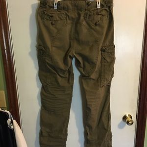 Polo Ralph Lauren Mens Military Cargo Olive Pants